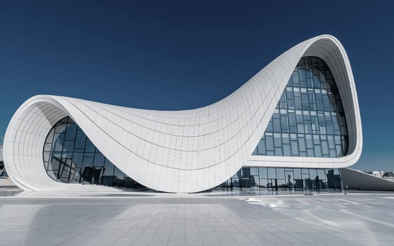 Heydar Aliyev Cultural Center - The Genius of Zaha Hadid