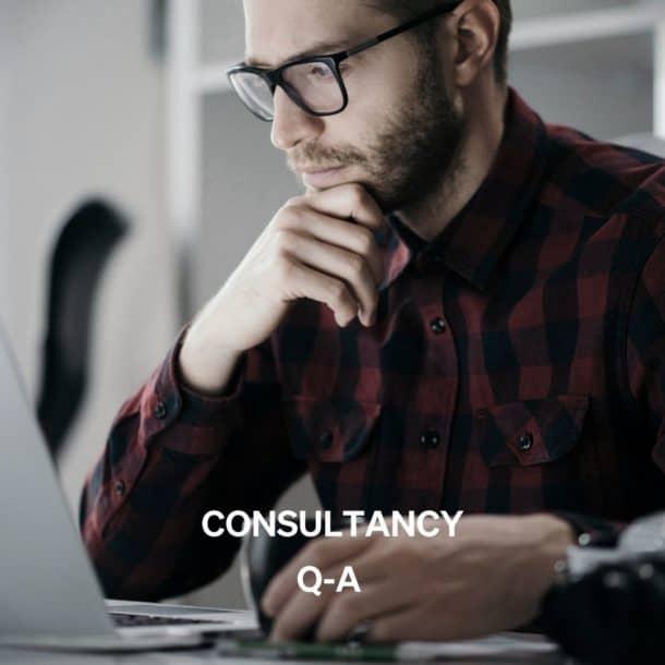Consultancy – Q﹠A